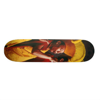Tibetan monk skateboard