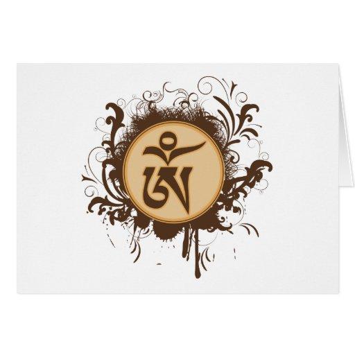 Tibetan Om Cards