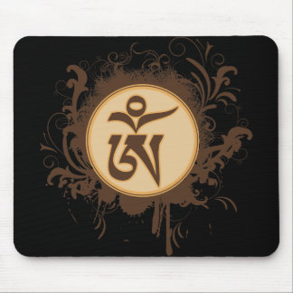 Tibetan Om Mouse Pad