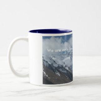 Tibetan Peak of Everest Two-Tone Mug