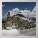 Tibetan Photo:  Potala Palace, Lhasa, Tibet Poster