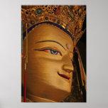 Tibetan Photo: Tibet Monasteries: Drepung Buddha Poster
