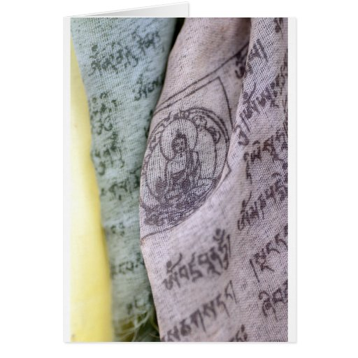 Tibetan Prayer Flags Card