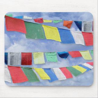 Tibetan Prayer Flags Mouse Mat