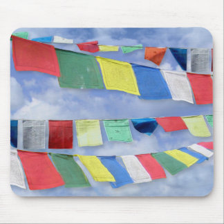 Tibetan Prayer Flags Mouse Pad