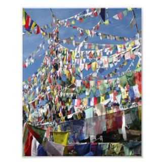 Tibetan Prayer Flags Photo Art