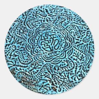 Tibetan Round Sticker
