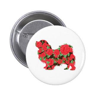 Tibetan Spaniel 6 Cm Round Badge