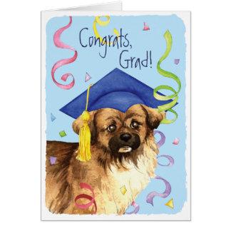 Tibetan Spaniel Graduate Card