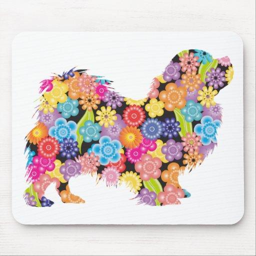 Tibetan Spaniel Mouse Pads