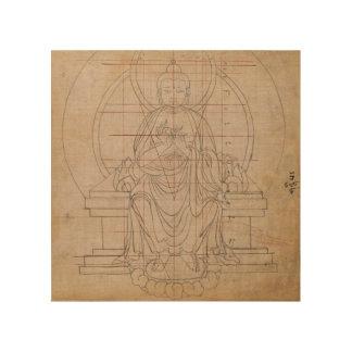 Tibetan Symmetry Wood Print