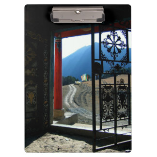 Tibetan Temple Clipboard