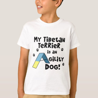 Tibetan Terrier Agility Dog Child's T-Shirt
