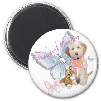 Tibetan Terrier Angel Baby Gifts Fridge Magnet