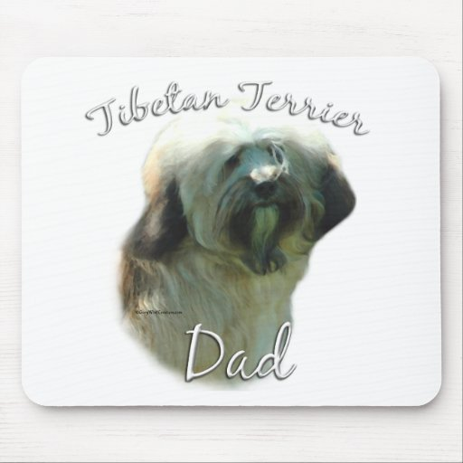 Tibetan Terrier Dad 2 Mouse Pad
