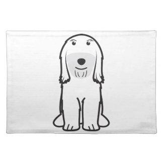 Tibetan Terrier Dog Cartoon Placemats