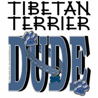 Tibetan Terrier DUDE Standing Photo Sculpture