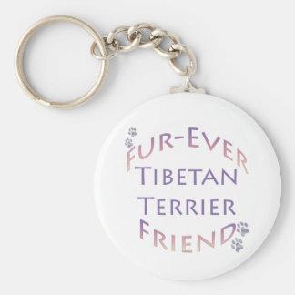 Tibetan Terrier Furever Friend Keychains