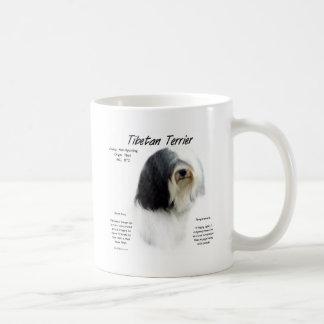 Tibetan Terrier History Design Mugs