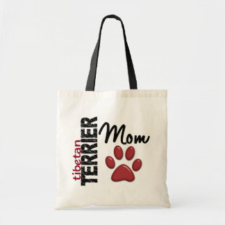 Tibetan Terrier Mom 2 Budget Tote Bag