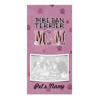 Tibetan Terrier MOM Picture Card