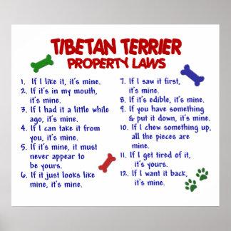 TIBETAN TERRIER PL2 POSTER