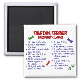 TIBETAN TERRIER Property Laws 2 Magnet