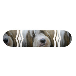 Tibetan Terrier Skateboard