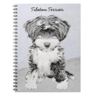 Tibetan Terrier Spiral Notebooks