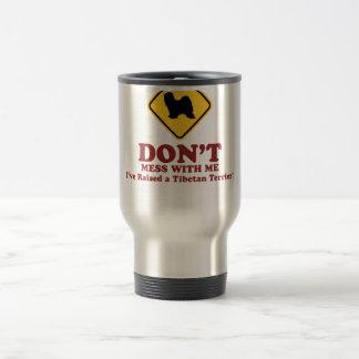 Tibetan Terrier Stainless Steel Travel Mug