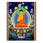 Tibetan Thangka Prabhutaratna Buddha Postcard