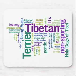 Tibetian Terrier Mouse Pad