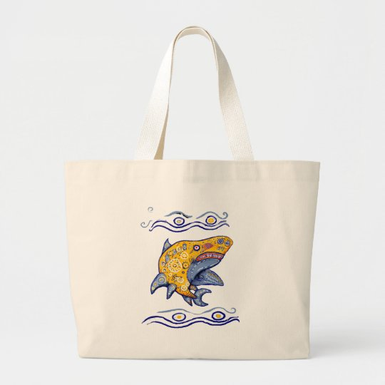 * TibuRon * Large Tote Bag