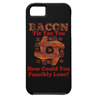 Tic Tac Bacon iPhone 5 Cover