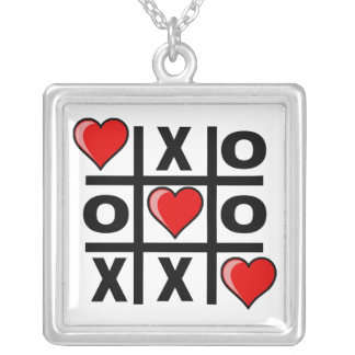 Tic Tac Love Necklace