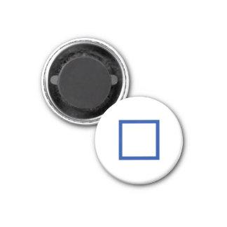 """Tic Tac Toe 1-1/4"""" Fridge Magnet """"[]"""""""