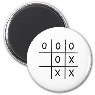 Tic-Tac-Toe Magnets