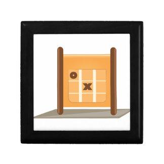 Tic Tac Toe Small Square Gift Box