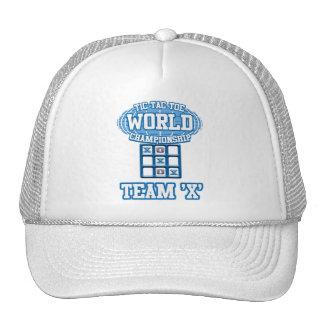 """Tic Tac Toe World Championship - Team """"X"""" Trucker Hats"""