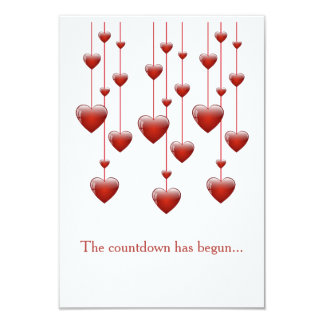 Tic Toc Valentine's Day Party Invitations