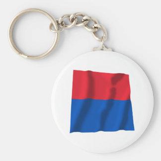Ticino Waving Flag Key Ring