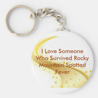 Tick-Borne Disease Awareness Key Ring