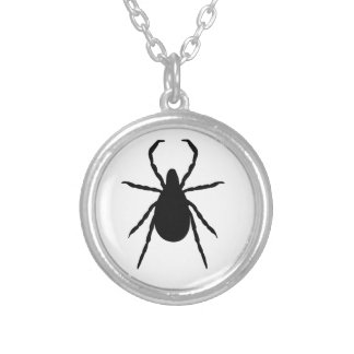 Tick Silver Plated Necklace