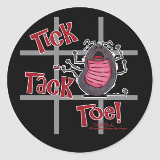 Tick Tack Toe! Stickers