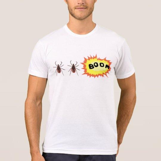 Tick Tick Boom Men's T-Shirt Pun Collection
