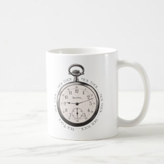 Tick Tock Basic White Mug