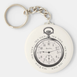 Tick Tock Key Chain