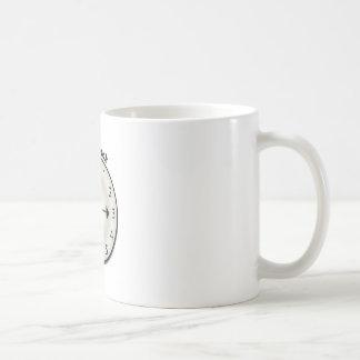 Tick Tock Classic White Coffee Mug