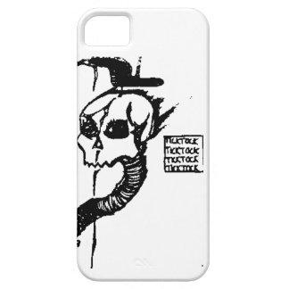 Tick Tock Skull iPhone 5 Cases