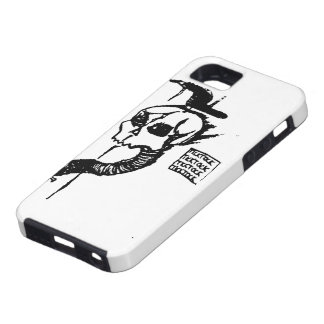 Tick Tock Skull iPhone 5 Covers